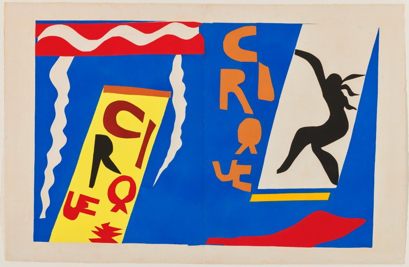 AGNSW collection Henri Matisse The circus (1947) 151.2014.2