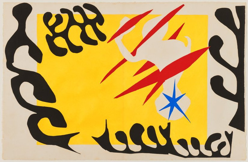 AGNSW collection Henri Matisse The nightmare of the white elephant (1947) 151.2014.4