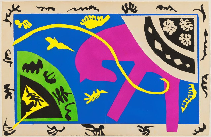 AGNSW collection Henri Matisse The horse, the rider and the clown (1947) 151.2014.5