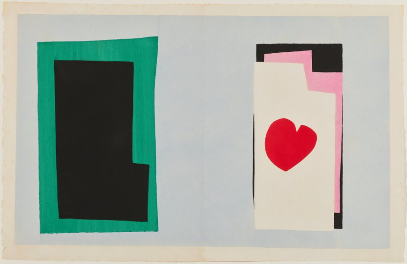 AGNSW collection Henri Matisse The heart (1947) 151.2014.7