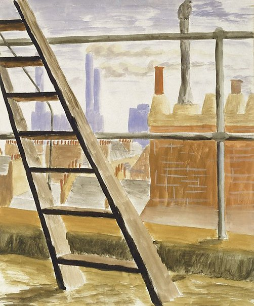 An image of From a window in Pimlico (Battersea Power Station) by Peter Purves Smith
