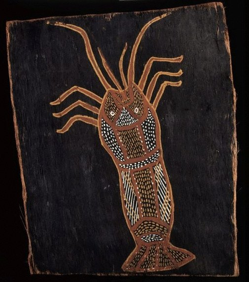 An image of Crayfish / Lobster by Thomas Nandjiwarra Amagula