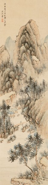 An image of Summer landscape by Nakabayashi CHIKKEI