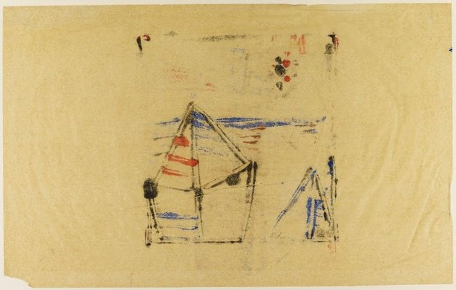 An image of Untitled (tent and stars)