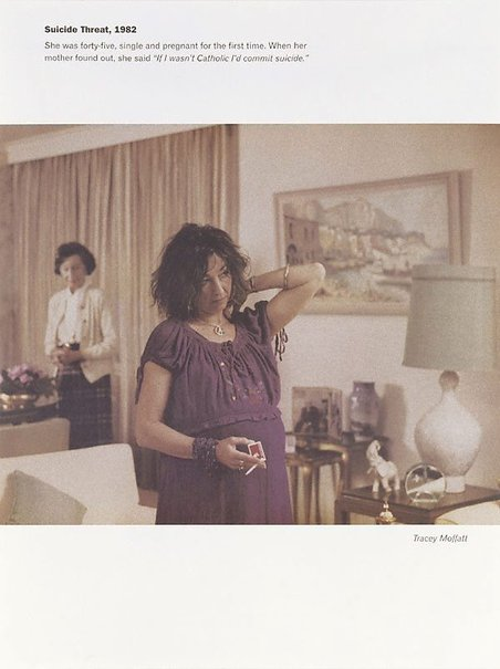 An image of Suicide threat 1982 by Tracey Moffatt