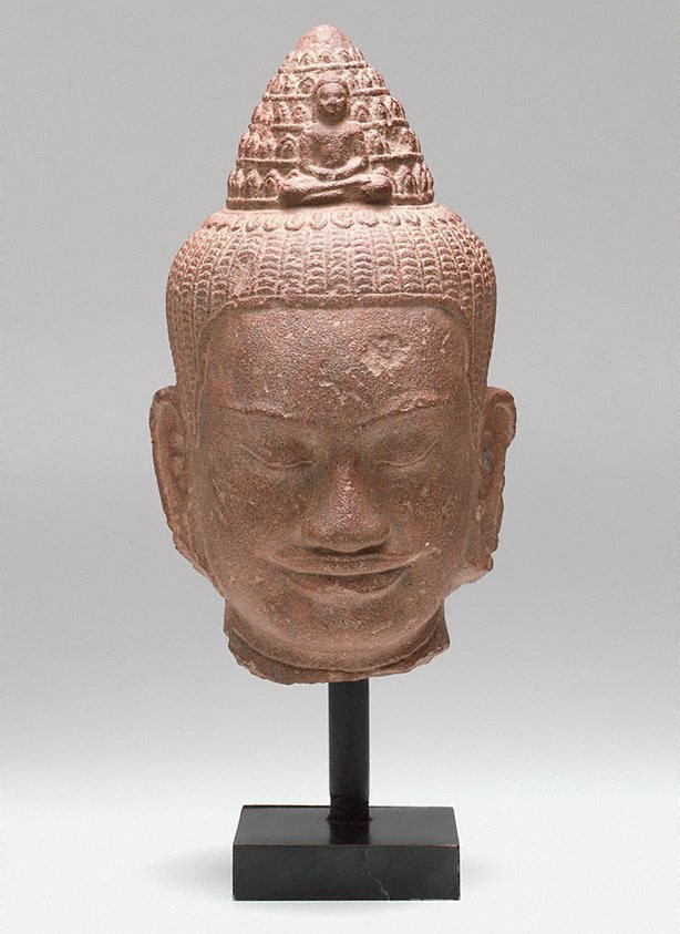 An image of Head of Avalokiteshvara