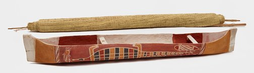 An image of Ceremonial dugout canoe by Unknown