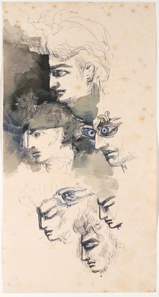 An image of (Head studies) by James Gleeson