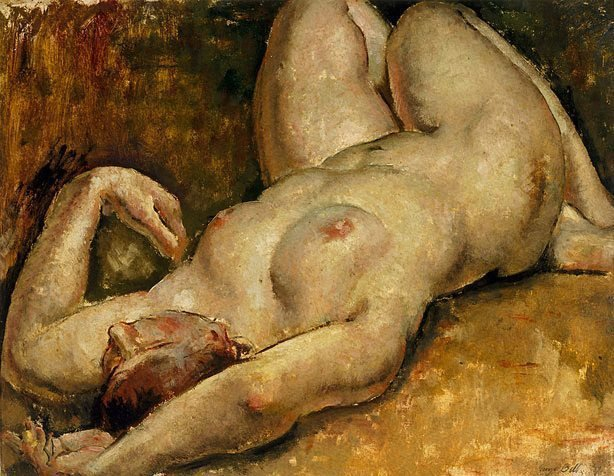 An image of Reclining nude