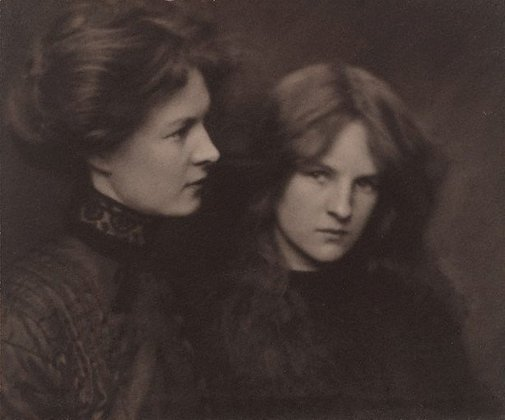An image of The orphan sisters by Harold Cazneaux