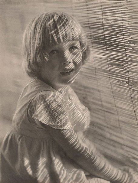 An image of The bamboo blind by Harold Cazneaux
