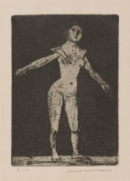 An image of Dancer by Fred Williams