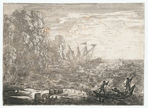 An image of The Tempest by Claude Lorrain