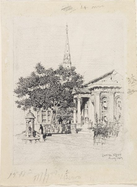 An image of (St. James Church) by Lloyd Rees