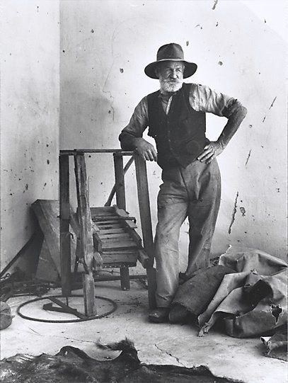 An image of Gold prospector Arltunga, Central Australia by Axel Poignant