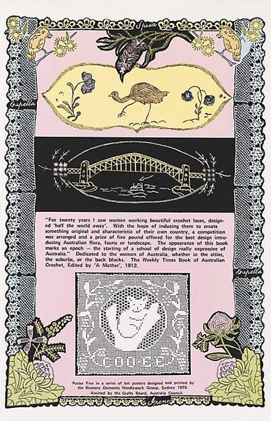 An image of For twenty years by Women's Domestic Needlework Group, Sydney, Marie McMahon, Frances Phoenix