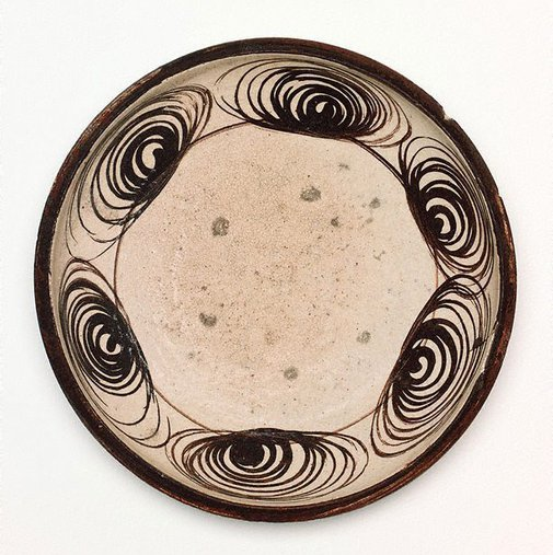 An image of 'Ishizara' food plate by Seto ware
