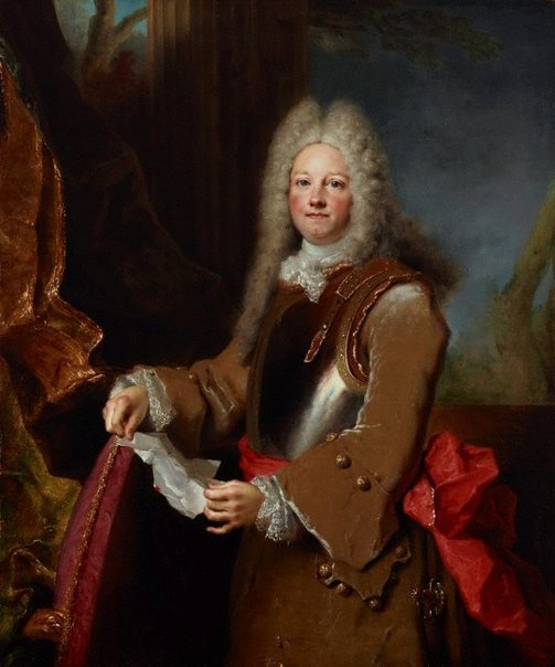 An image of Portrait of an officer by Nicolas de de Largillière