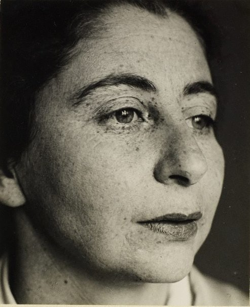 An image of Hedwig Mankiewitz-Hausmann by Raoul Hausmann