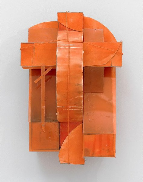 An image of An orange constructed one by Rose Nolan