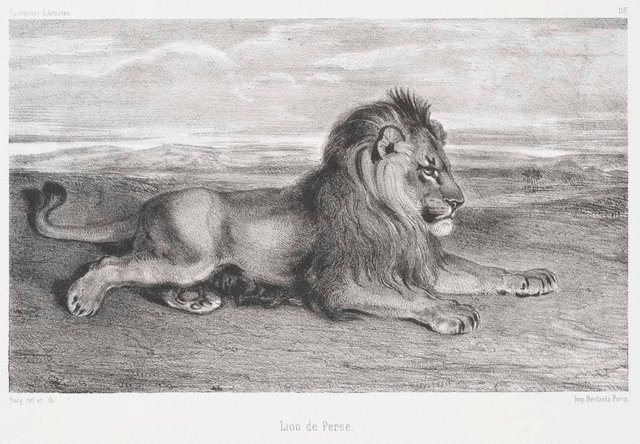 An image of Lion of Persia