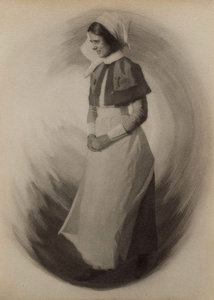 An image of War-time types IV: the hospital sister by Francis J Mortimer