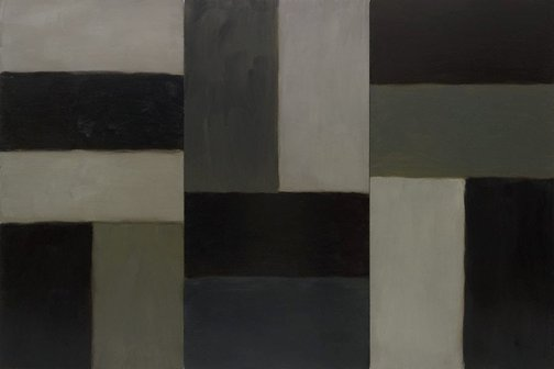 An image of Doric Brown by Sean Scully