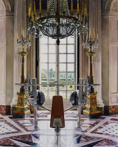 An image of The new Round Room by Michael Zavros