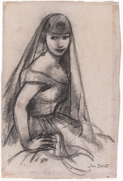 An image of Spanish lady by Jean Bellette