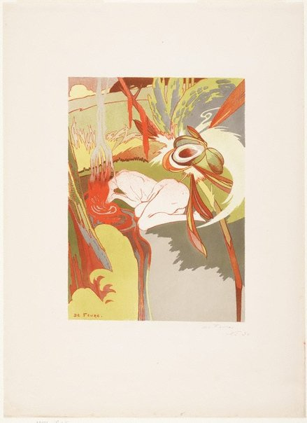 An image of The source of evil by Georges de Feure