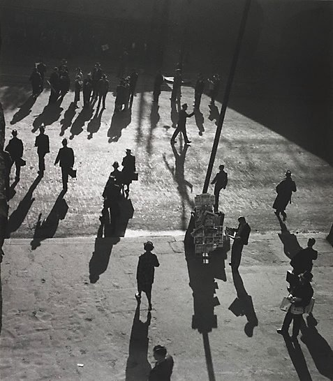 An image of Street at Central by Max Dupain