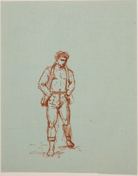 An image of (Male figure) by James Gleeson