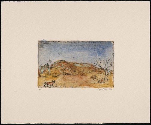 An image of Macdonnell Ranges, Central Australia I by Lloyd Rees