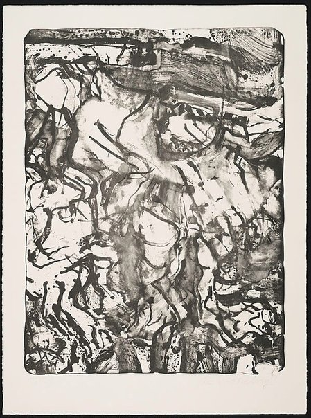 An image of The preacher by Willem de Kooning