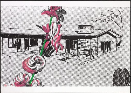 An image of Weekend-home by Sigmar Polke