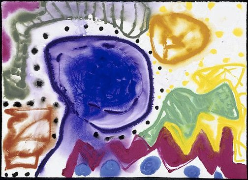 An image of Sydney : 27 February : 1990 by Patrick Heron