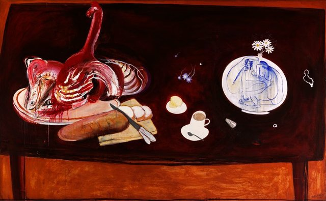 An image of Still life with meat