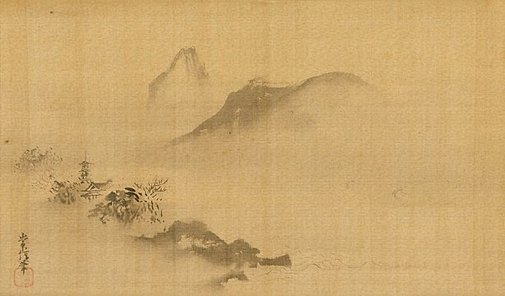 An image of Landscape by Kanô TSUNENOBU