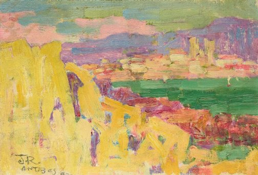 An image of Antibes by John Peter Russell
