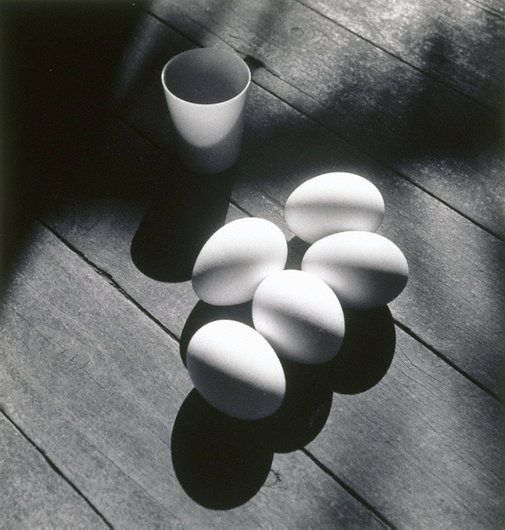 An image of Eggs by Max Dupain