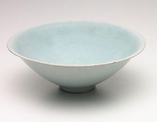 An image of Qingbai conical bowl by