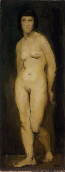 An image of Standing nude by Fred Williams