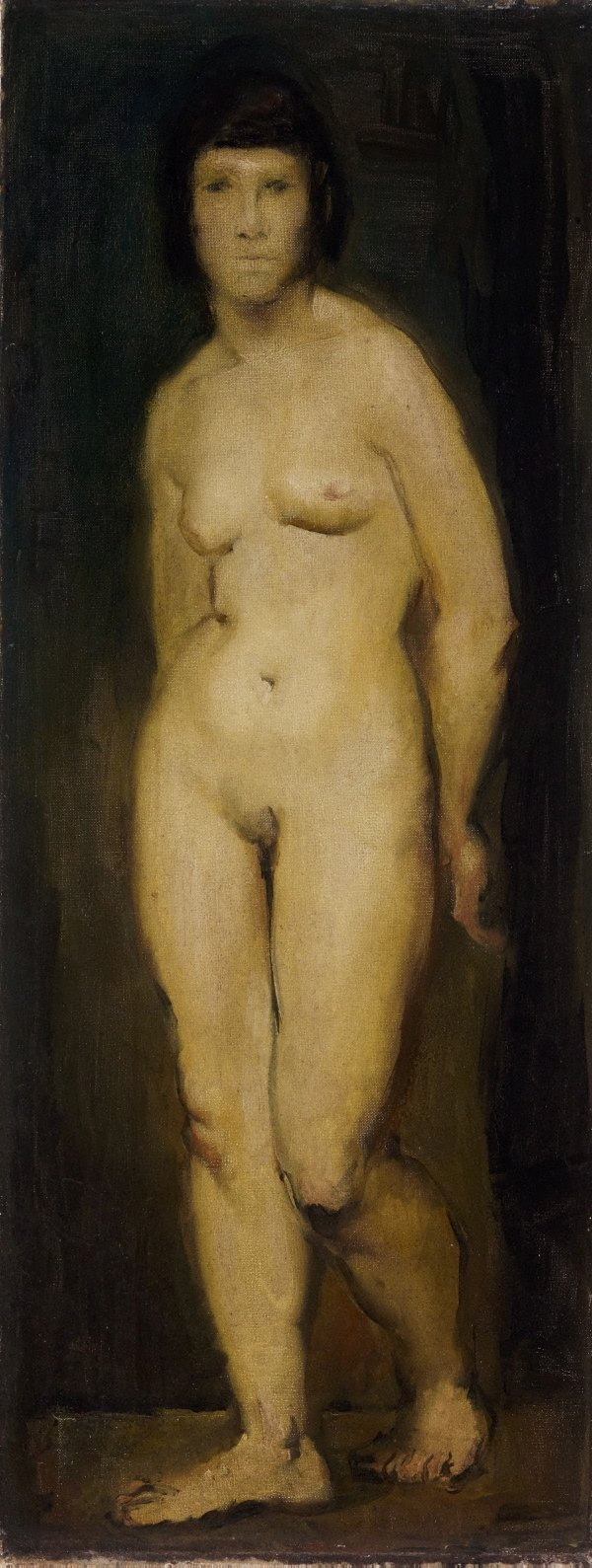 An image of Standing nude