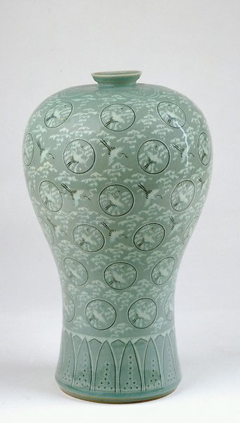 An image of 'Meiping' vase (reproduction of Koryo 'Meiping' vase) by