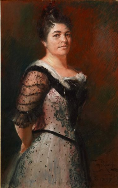 An image of Elise Pinschof Wiederman by Tom Roberts