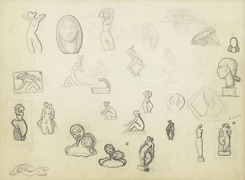 An image of Sketchbook by Arthur Fleischmann
