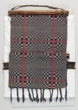 Alternate image of Back-strap loom with section of blanket [owes] by Itneg