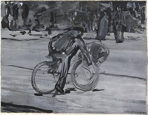 An image of Bike rider, Bagdad 1 by Kevin Connor