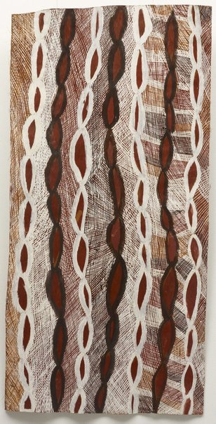An image of Gurtha by Barrupu Yunupingu