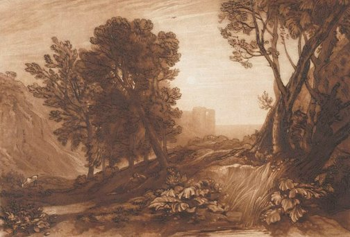 An image of Solitude by Joseph Mallord William Turner